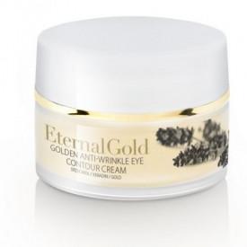 Crema contur ochi, cu aur, Organique, 15 ml