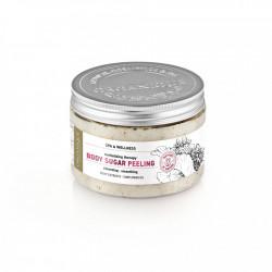 Exfoliant corp revitalizant, Delicious Touch, Organique, 450 ml