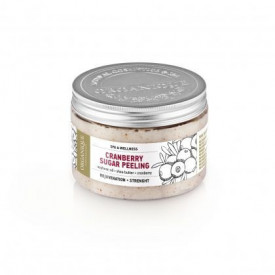 Exfoliant corporal cu merisoare, Organique, 450 ml