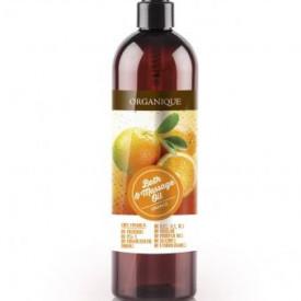 Ulei pentru masaj cu Portocale, Organique, 500 ml