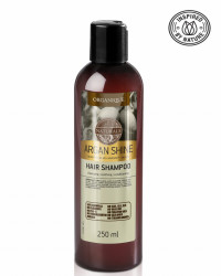 Sampon par cu ulei de argan, Organique, 250 ml