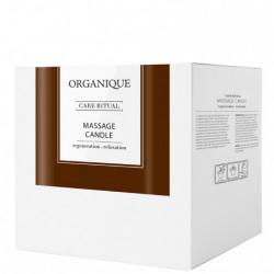 Candela pentru masaj cu ulei de guarana, Organique, 125 ml
