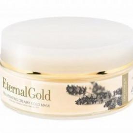 Masca pentru fata cu aur, Eternal Gold, Organique, 180 ml