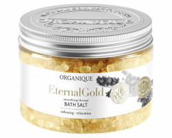 Sare de baie cu aur Eternal Gold, Orqanique 600 g