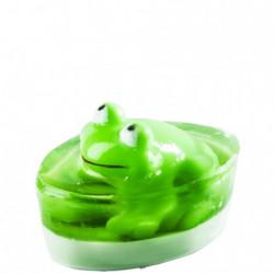Sapun verde cu jucarie broscuta, Organique, 80 g