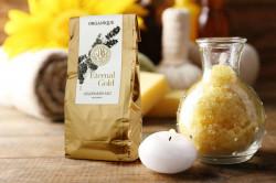 Sare de baie cu aur Eternal Gold, Orqanique 600 g