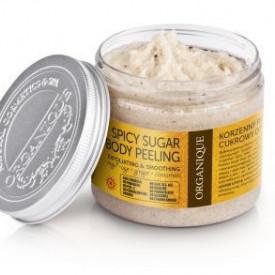 Exfoliant corp, cu Scortisoara si Portocale, Organique, 200 ml
