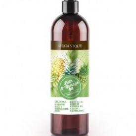 Ulei pentru masaj cu ananas, Organique, 500 ml