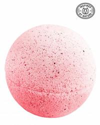 Bila efervescenta spumanta de baie, Zmeura, Organique, 170 gr