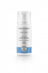 Ser hidratant si regenerant pentru maini, cu matase si perle, Organique 100 ml