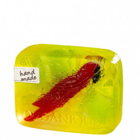 Sapun decorativ Papagal si glicerina, Organique, 100 gr