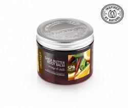 Balsam corporal cu unt de shea, chili si portocale, Organique, 200 ml
