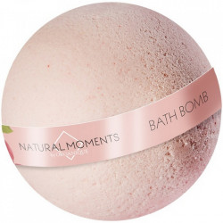 Bila efervescenta de baie cu coacaze rosii, Natural Moments, Organique, 170 g