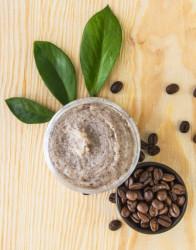 Exfoliant pentru slabire cu cafea si cristale de zahar, Organique, 200 ml