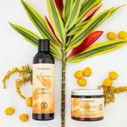 Unt de corp regenerant piele uscata si sensibila Naturals Argan Shine Organique 200 ml
