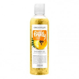 Gel de dus cu ananas si papaya, Organique, 250 ml