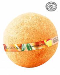 Bila efervescenta spumanta de baie, Mango, Organique, 170 gr