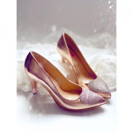 Silver Love Stiletto