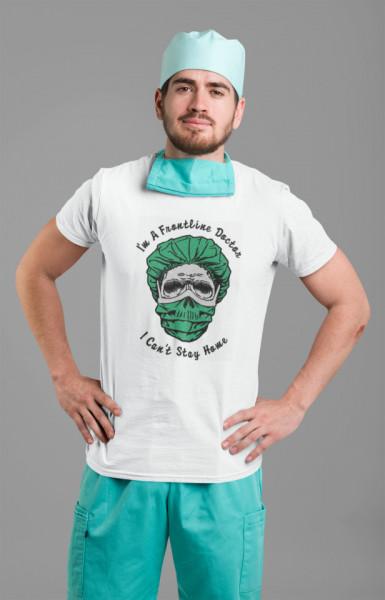 Frontline Doctor Hero Covid-19 Fashion T-shirt