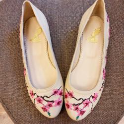 Cherry Blossom Flat Ballerinas
