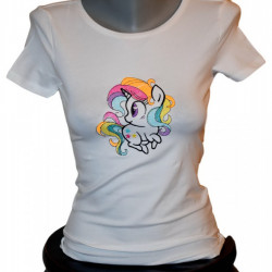 Women T-shirt, Little Poney