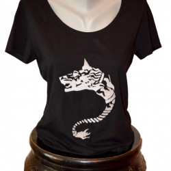 Women T-shirt, Dacian Wolf