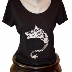 Women T-shirt, Dacian Wolf