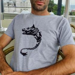 Men T-shirt, Dacian Wolf