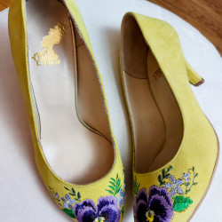 Paisley Embroidery Shoes