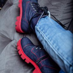 Clasic Denim Boots