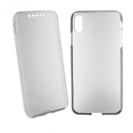Husa 360 din policarbonat si silicon pentru iPhone XR