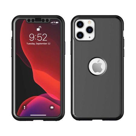 Husa 360 iPhone 11 Pro - Negru