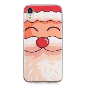 Husa christman printing tpu iPhone X, love santa claus