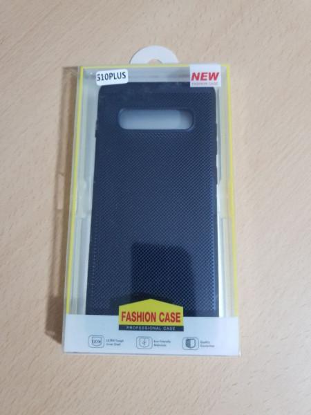 Husa PC Hollow Mesh Samsung S10 Plus, Bleo