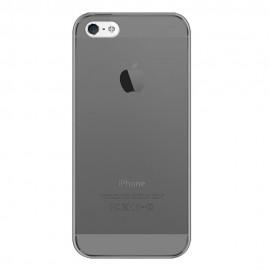 Husa silicon ultraslim Iphone 5/5s/SE - fumuriu