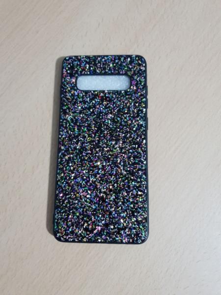 Husa TPU Glitter Samsung S10 Model 2