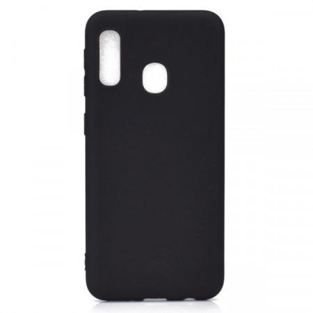 Husa Fusion Soft Frosted TPU Case Samsung A20e – Black
