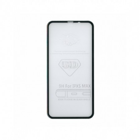 Sticla Securizata 5d Full Screen 3mm iPhone XS Max/ 11 Pro Max, Black