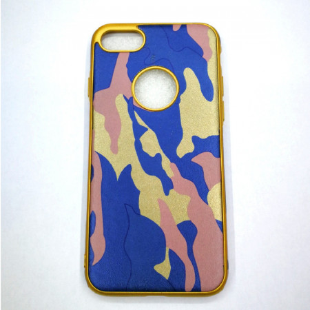 Husa din silicon army blue - pentru iPhone 6/6s