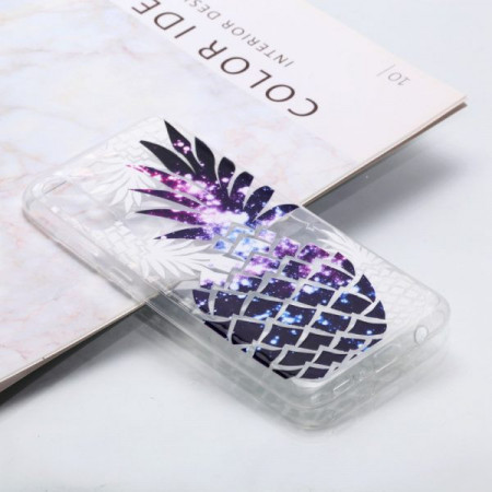 Husa Fusion Embossed Pattern 3D Diamond for Samsung A50/A50s/A30s – Pineapple