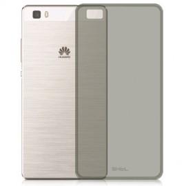 Husa silicon slim Huawei P9 lite fumuriu