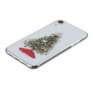 Husa Tech Christmas Printing Soft iPhone X, Decorated Christmas