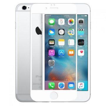 Sticla Securizata 5d Full Screen 2mm (full Glue) iPhone 7/8 - Alb