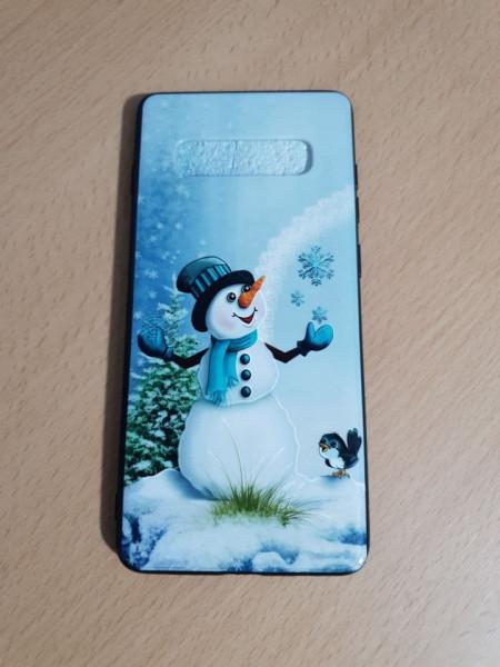 Husa 3D Embossed Samsung S10 Plus, Om de Zapada