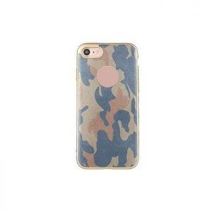Husa din silicon army blue - pentru iPhone 7