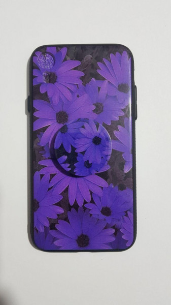 Husa pop holder iPhone XR model 5