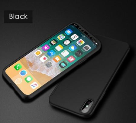 Husa 360 iPhone X / XS - Negru