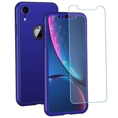 Husa 360 iPhone XR - Bleumarin