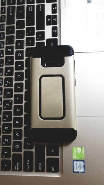 Poze Husa Defender 1 Samsung S8 - Gold