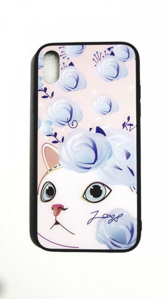 Husa Glass Case iPhone XR - model 2